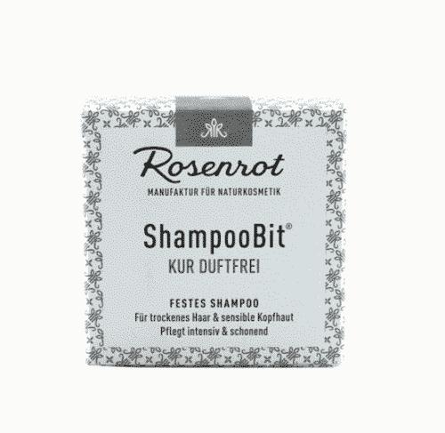 Festes Shampoo Kur duftfrei - ShampooBit - Rosenrot 55 g - 2