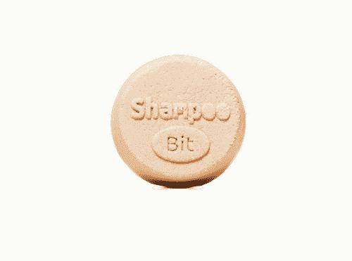 Festes Shampoo Melisse-Hanf - ShampooBit - Rosenrot 55 g - 2
