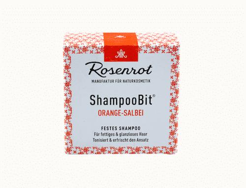 Festes Shampoo Orange-Salbei - ShampooBit - Rosenrot 55 g - 3