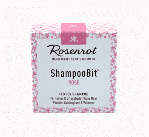 Festes Shampoo Rose - ShampooBit - Rosenrot 3