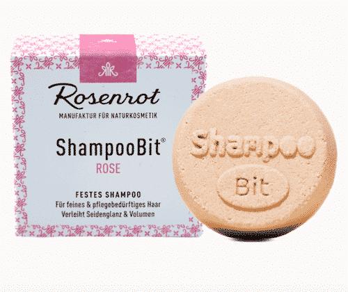 Festes Shampoo Rose - ShampooBit - Rosenrot 55 g