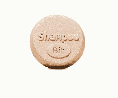 Festes Shampoo Walnuss-Mandel - ShampooBit - Rosenrot 55 g - 2