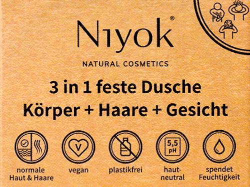 Niyok 3 in 1 feste Dusche
