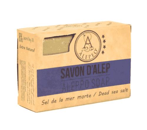 Aleppo Seife - Totes Meersalz - Alepeo 100 g
