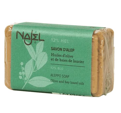 Aleppo Seife mit 12% Lorbeeröl - Najel 100 g