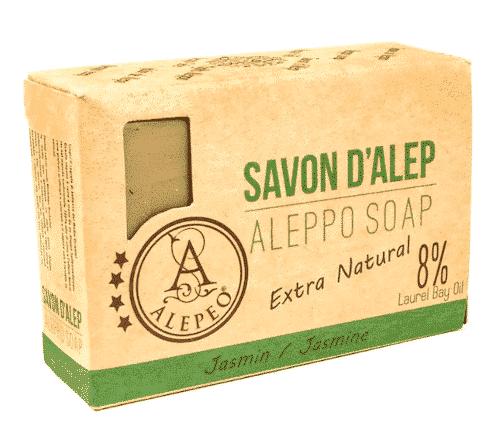 Aleppo Seife mit Jasmin - Alepeo 100 g