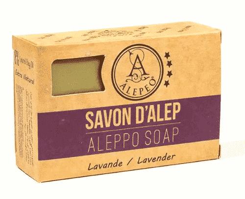 Aleppo Seife mit Lavendel - Alepeo 100 g