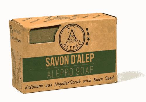 Aleppo Seife mit Schwarzkümmel - Alepeo 100 g
