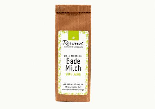 Bademilch Gute Laune - Rosenrot 150 g