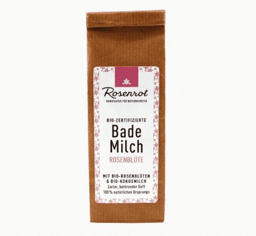 Bademilch Rosenblüte - Rosenrot 150 g