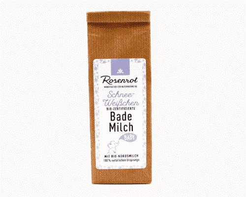 Bademilch Schneeweißchen - Rosenrot 150 g
