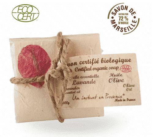 Bio Marseiller Seife - Olive & Lavendel - Provence & Co 100 g