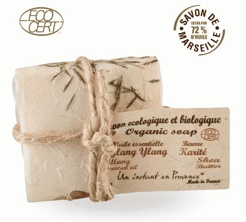 Bio Marseiller Seife - Ylang Ylang & Shea Butter - Provence & Co 100 g