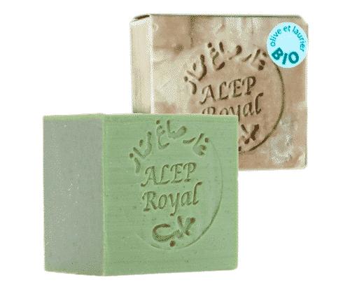 Bio Royal Aleppo Seife - 4% Lorbeeröl und 96% Olivenöl - Savonnerie ENSA 200 g