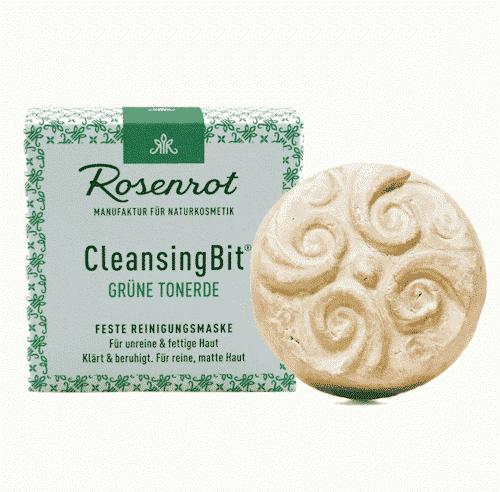CleansingBit mit grüner Tonerde - Rosenrot 65 g