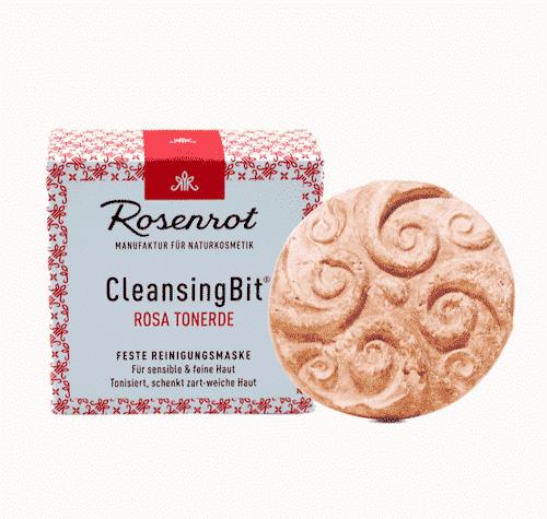 CleansingBit mit rosa Tonerde - Rosenrot 65 g