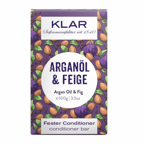Fester Conditioner - Arganöl und Feige - KLAR 100 g