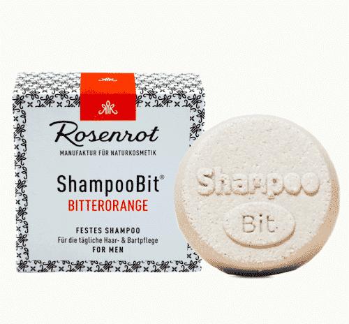 Festes Shampoo Men - Bitterorange - ShampooBit - Rosenrot 55 g
