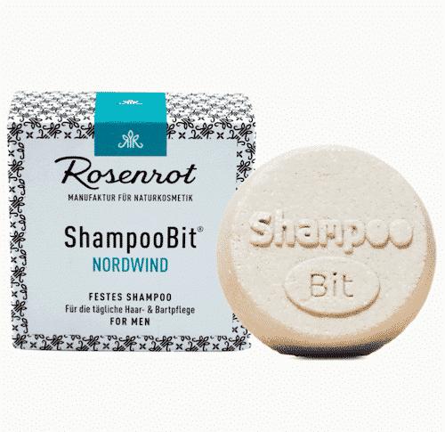 Festes Shampoo Men - Nordwind - ShampooBit - Rosenrot 55 g