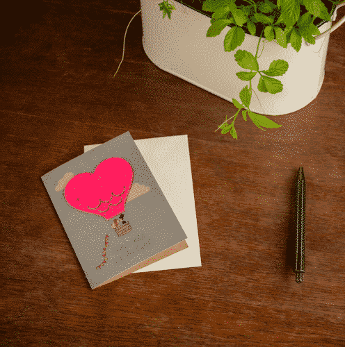 Grußkarte Alles Liebe zur Hochzeit - Die Stadtgärtner