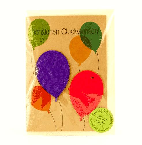 Grußkarte Herzlichen Glückwunsch - 3