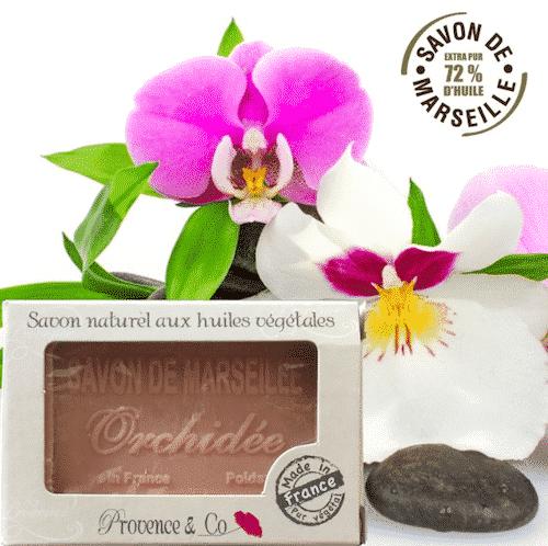 Marseiller Seife Orchidee - 1