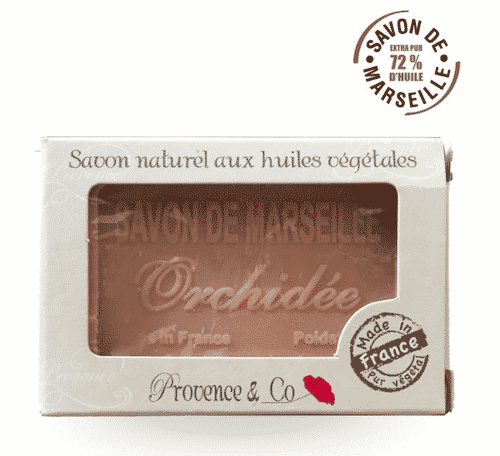 Marseiller Seife Orchidee - Provence & Co 100 g