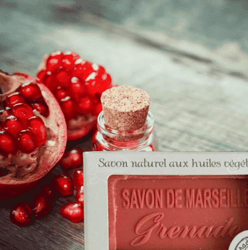Marseiller Seife mit Granatapfel - 1