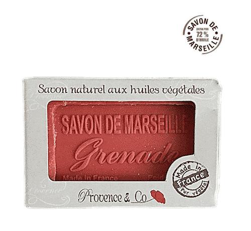 Marseiller Seife mit Granatapfel - Provence & Co 100 g