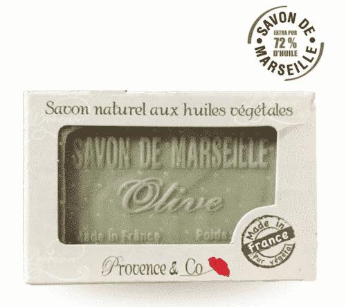 Marseiller Seife mit Olive - Provence & Co 100 g