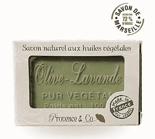 Marseiller Seife mit Olive und Lavendel - Provence & Co 100 g