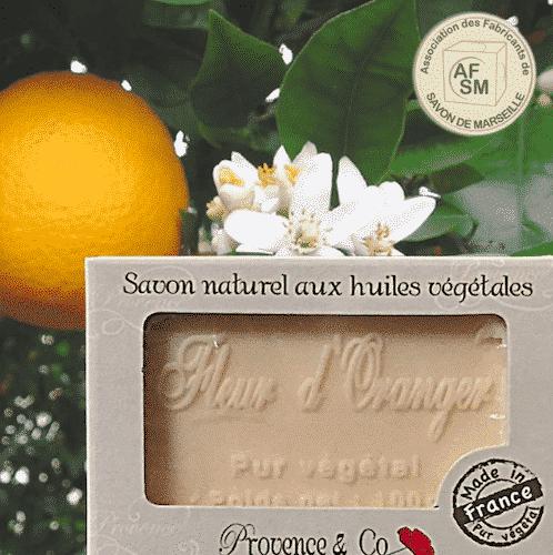Marseiller Seife mit Orangenblüte - 1
