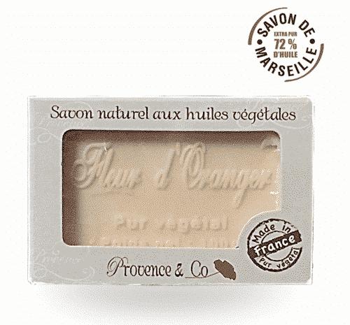 Marseiller Seife mit Orangenblüte - Provence & Co 100 g