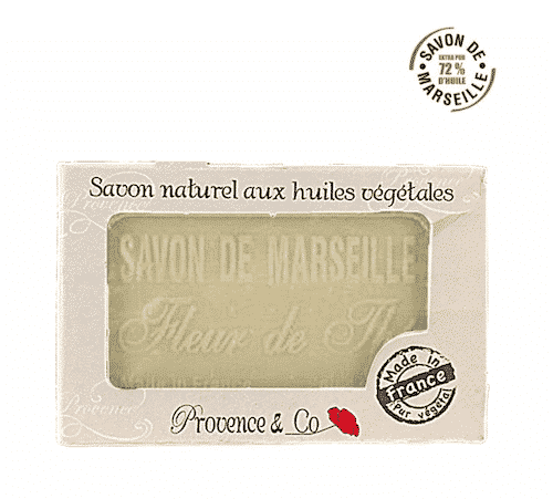 Marseiller Seife mit Teeblüte - Provence & Co 100 g