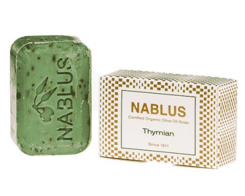 Olivenölseife mit Thymian - Nablus 100 g