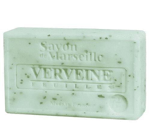 Savon de Marseille mit Eisenkrautblatt - Marseiller Seife 100 g