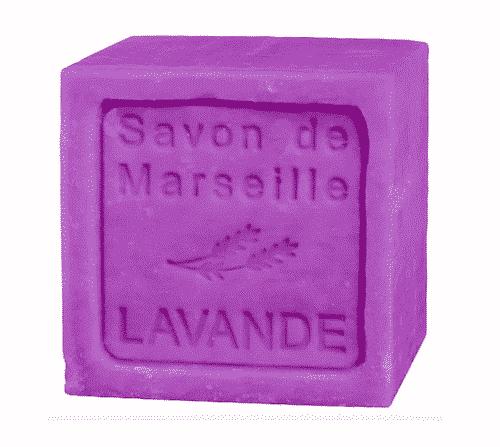 Savon de Marseille mit Lavendel - Marseiller Seife 300 g