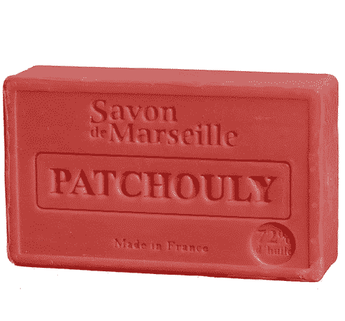 Savon de Marseille mit Patchouli - Marseiller Seife 100 g