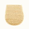 Waschhandschuh aus Hanf - Rosenrot