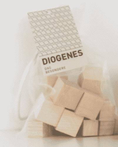 Säckchen mit Zirbenwürfeln - Diogenes