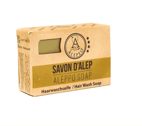 Aleppo Haarwaschseife mit Propolis - Alepeo 100 g