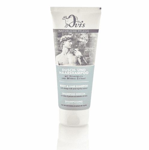 Dusch - u. Haarshampoo for Men - Schafmilch & Myrrhe – Ovis 200 ml