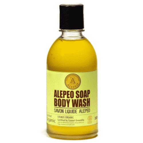 Flüssige Aleppo Seife Natur - Body Wash - Najel 350 ml