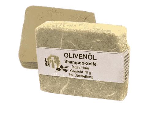 Haarseife mit Olivenöl & Macadamianuss - A. Altenweg 70 g