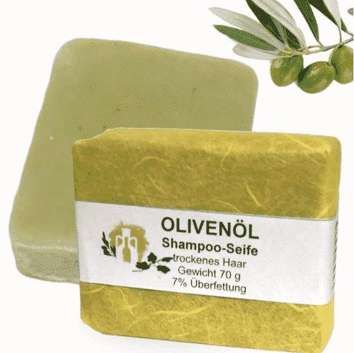 Haarseife mit Olivenöl & Traubenkernöl - A. Altenweg 70 g