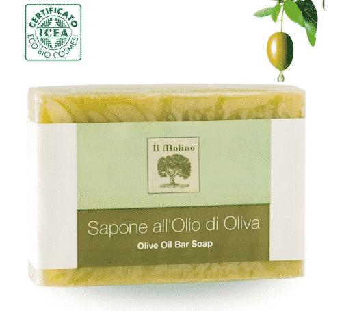 Italienische bio Olivenölseife - ohne Palmöl - 1