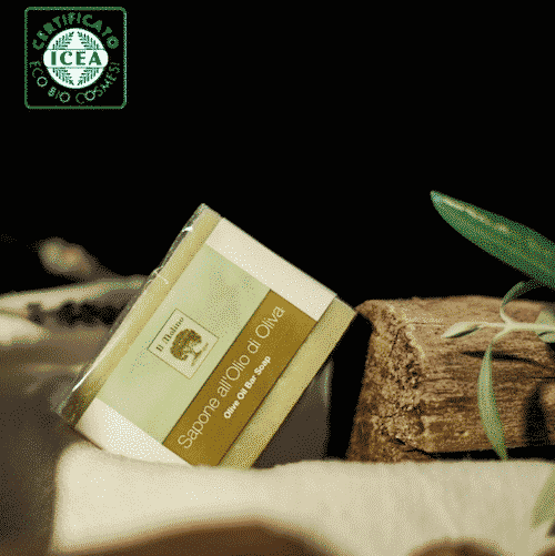 Italienische bio Olivenölseife - ohne Palmöl - 2