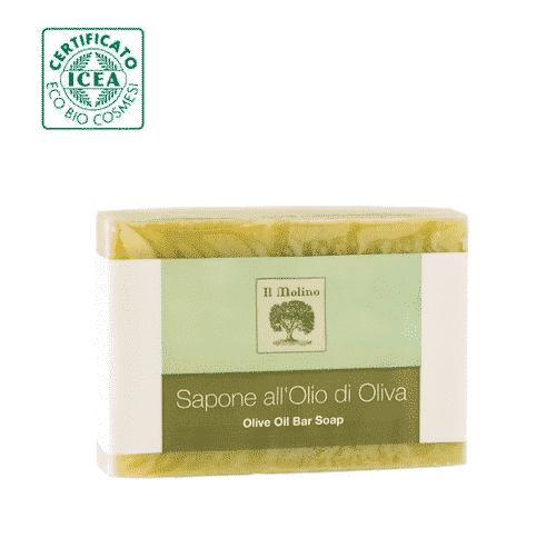 Italienische bio Olivenölseife - ohne Palmöl - Il Molino 100 g