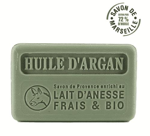 Marseiller Eselsmilchseife - Arganöl & Sheabutter - FouFour 100 g