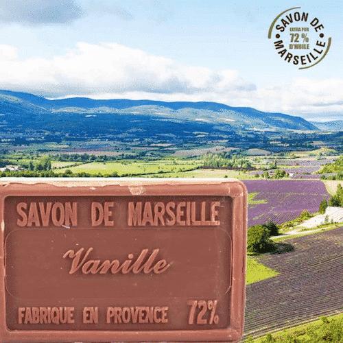 Marseiller Seife - Vanille und Sheabutter - 1